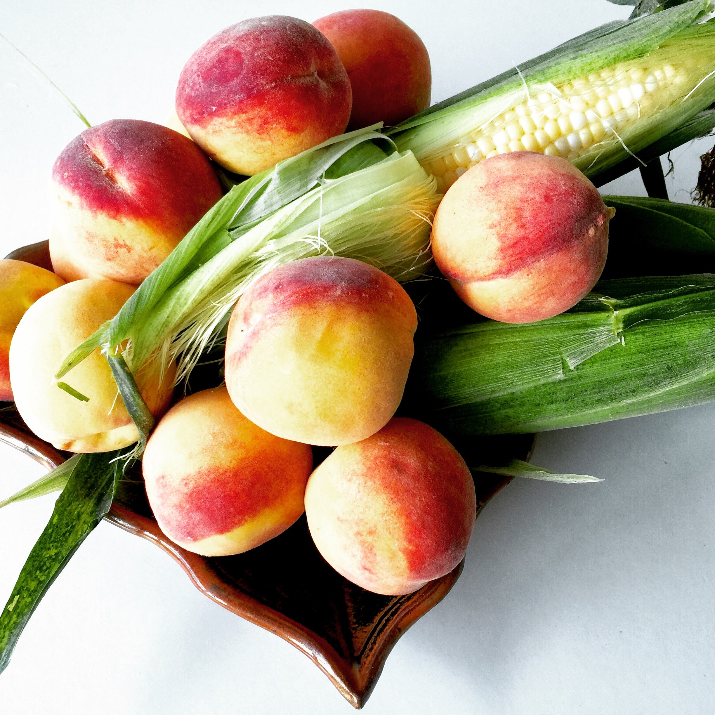 Summer Peaches Corn